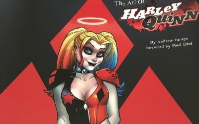 The Art of Harley Quinn, by Andrew Farago